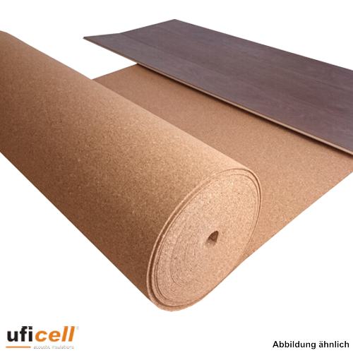 trittschalld mmung rollenkork 3 mm st rke 20 m rolle. Black Bedroom Furniture Sets. Home Design Ideas