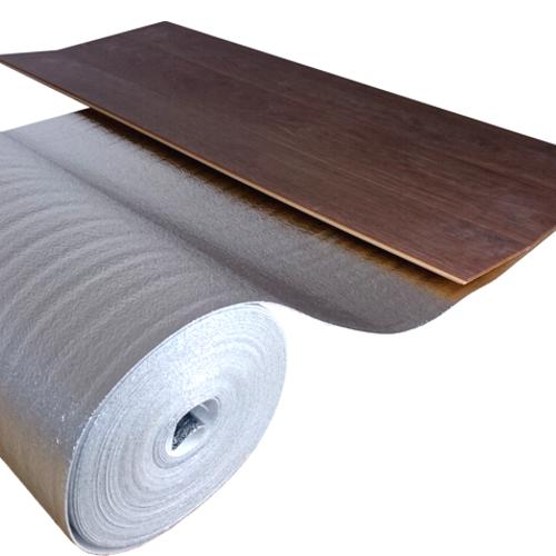 alu pe schaum trittschalld mmung 2 mm stark laminatb den mit fu bodenheizung ebay. Black Bedroom Furniture Sets. Home Design Ideas